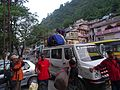 Loading trek equipments, Uttarkashi WTK20150915-DSC00053.jpg