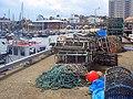 Lobster Pots, Bridlington - geograph.org.uk - 506608.jpg