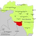 Localització de la Salzadella respecte del Baix Maestrat.png