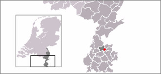 Amstenrade - Image: Locatie Amstenrade
