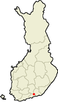 Location of Lapptrask in Finland.png