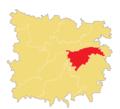 Location of Syedpur-Shaharpara Union in Jagannathpur Upazila.png