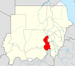 Kosti is located in Sudan