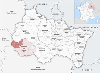 Arrondissement of Nogent-sur-Seine Arrondissement in Grand Est, France