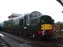 Loco D6729 at North Weald3 2012.JPG