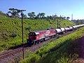 Locomotiva de comboio que passava sentido Guaianã na Variante Boa Vista-Guaianã km 205 em Salto - panoramio.jpg