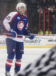 Logan Brown American professional ice hockey player