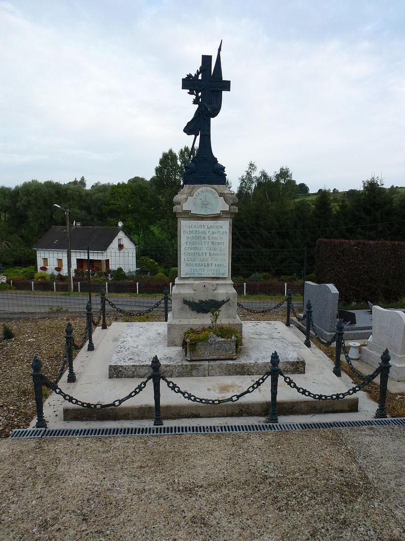 Logny-Bogny (Ardennes) monument aux morts.JPG