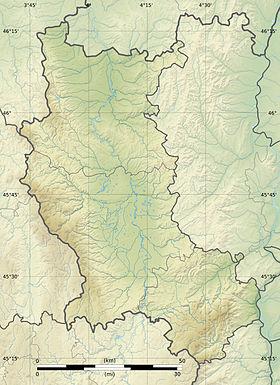 Voir sur la carte topographique de la Loire