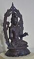 Lokanatha - Bronze - Pala Period Circa 9th-10th Century AD - Nalanda - Archaeological Museum - Nalanda - Bihar - Indian Buddhist Art - Exhibition - Indian Museum - Kolkata 2012-12-21 2325.JPG