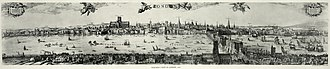 Stuart London - Image: London panorama, 1616b