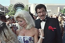 Loni Anderson and Burt Reynolds