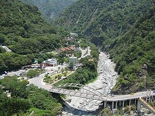 Liwu River River in Hualien County, Taiwan