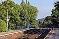 Looking south, Pen-y-ffordd railway station (geograph 4032561).jpg