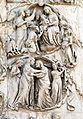 Lorenzo maitani e aiuti, scene bibliche 3 (1320-30) 07 visitazione epifania.JPG