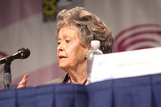 Ed and Lorraine Warren - Lorraine Warren speaking at the conference in 2013 WonderCon