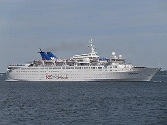 Festival Cruises - Image: Louis Aura departing Tallinn 13 June 2015