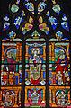 Louviers - Eglise Notre-Dame - Vitrail de la parenté de la Vierge ou des Trois Marie (baie n°18).jpg