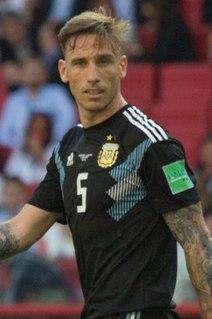 Lucas Biglia Argentine footballer