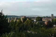 Ludlow viewed from the Whitcliffe