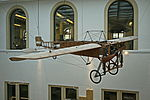 Luftfahrt - Blériot XI La Manche im Verkehrsmuseum Dresden...IMG 6635ОВ.JPG