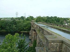 Lune Aqueduct - Image: Lune Aqueduct, Lancaster geograph.org.uk 18830