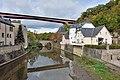 Luxembourg Pfaffenthal - Alzette - Béinchen - Pont gr.-d.-Charlotte 2017.jpg