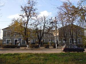Lymanske (urban-type settlement) - Image: Lymanske (Selz)