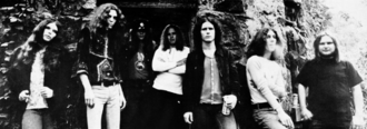 Ed King - King (far right) with Lynyrd Skynyrd in 1973