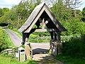 Lytch Gate at the Church of St. Maurice Ellingham - geograph.org.uk - 1439329.jpg