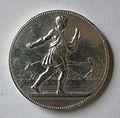 Médaille ARGENT, Société générale d'agriculture Meurthe-et-Moselle. Graveur Jean LAGRANGE (1831-1908). Avers.jpg