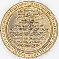 """Médaille en plomb doré """"Doyen des associés de l'institut de France"""" par A. BOVY 1769 Revers.jpg"""