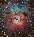 M20 Trifid Nebula dss-wise DEFe (18669270558).jpg