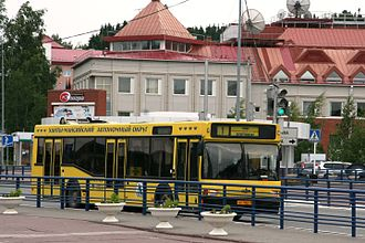 Khanty-Mansiysk - MAZ-103 bus