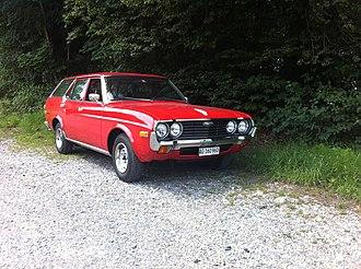 Mazda 929 - Image: MAZDA 929 LA2 Estate 1975