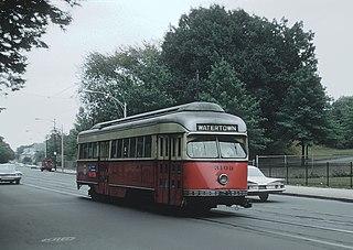 Former Boston Massachusetts subway line