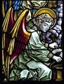 MCC-12211 Fragment glasraam over de zeven sacramenten met de engel uit de voorstelling van St. Lidwina (1).tif