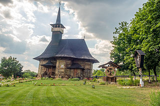 Wooden church of Hirișeni wooden church relocated to Chișinău from Hirișeni