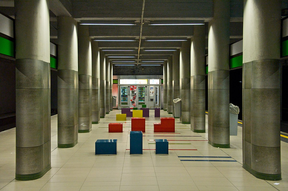 Garibaldi fs metropolitana di milano wikipedia - Passante porta garibaldi ...