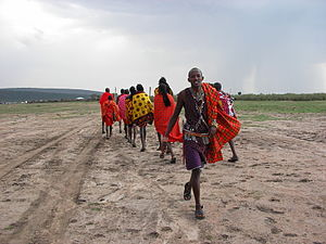 Maasai People Clothing