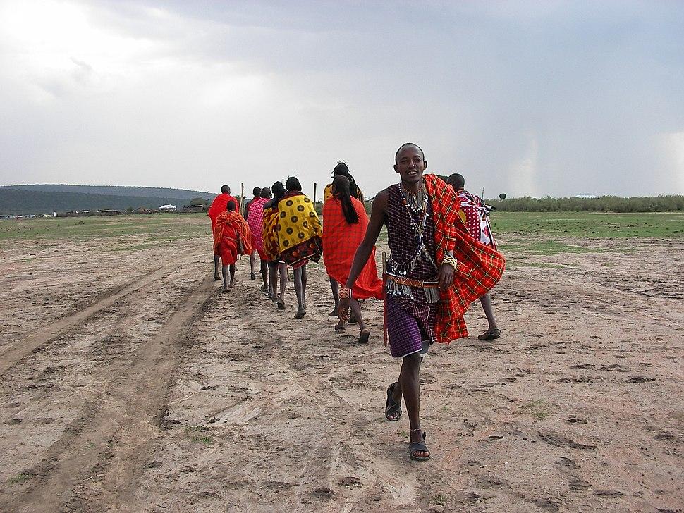Maasai People Clothing