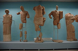 Museum of Plaster Casts (Thessaloniki) - Image: Macedonian Museums 98 Plaster Casts Thess 441