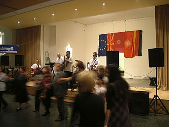 Macedonians (ethnic group) - Macedonian cultural event in Berlin, Germany