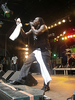 Mad Cobra Jamaican dancehall musician