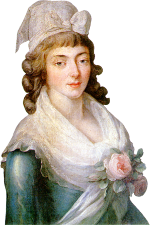 Madame Roland - Portrait of Madame Roland
