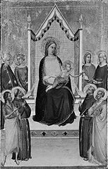 Madonna and Child Enthroned with Saints