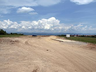Lyulin motorway - Image: Magistrala Lulin May 2010