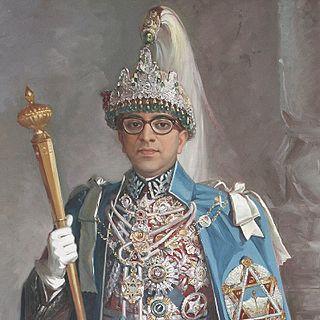 Mahendra of Nepal King of Nepal