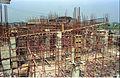 Main Auditorium Under Construction - Convention Centre Complex - Science City - Calcutta 1994-09-26 447.JPG