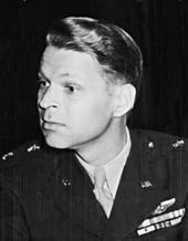 Maj. Gen. Lauris Norstad at a meeting during the Potsdam Conference in Germany - NARA - 198834 ks01.tif